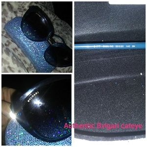 Authentic Bvlgari Cateye Sunglasses
